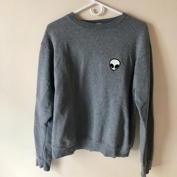 b3f8277f93d0 Brandy Melville Sweaters - Alien crewneck sweater